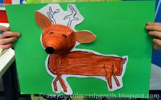 Use Your Coloured Pencils: animals