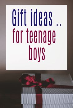 Ideas for gifts for teenage boys - it can be SO hard what to buy this age group but don't worry i have a great list of presents for gifting and gift giving teen boys here Teen Boys, Old Boys, Best Educational Toys, 14 Year Old, Christmas Gift Guide, Gifts For Teens, Powerful Words, Parenting Advice, Booklet