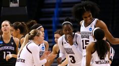 No. 3 Washington fell to No. 2 Mississippi State, 75-64, in the Oklahoma City Regional Sweet 16 in the NCAA women's basketball tournament on Friday
