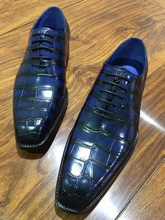 Alligator shoes, crocodile shoes for men