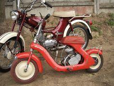 Дырчик.SU Mini Motorbike, Mini Bike, Vintage Motorcycles, Cars And Motorcycles, Super 4, Small Engine, Moto Guzzi, Cute Cars, Go Kart