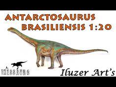 Antarctosaurus brasiliensis - Escala 1:20 - Iluzer Arts