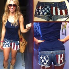 4th of July shorts