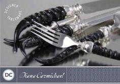 Diana Carmichael serving pieces
