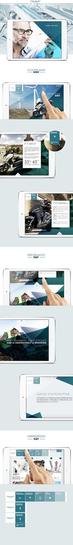 GDF Ipad by Sylvain Weiss, via Behance