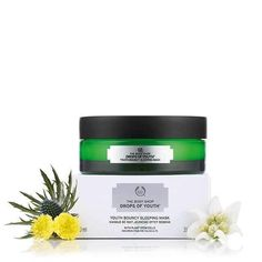 The Body Shop Drops of Youth Youth Bouncy Sleeping Mask Plant Stem Cells oz Body Shop Skincare, Free Samples Uk, Overnight Face Mask, Body Shop Tea Tree, Body Shop At Home, The Body Shop Uk, Hand Care, Stem Cells, Nocturne