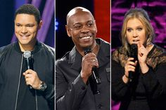 Stand-Up Comedy specials from Dave Chappelle, Amy Schumer, Trevor Noah, Jim Gaffigan and more are streaming on Netflix now