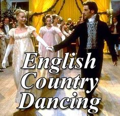 Of course the Jane Austen Weekend's highlight is the English Country Dancing