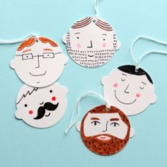 Easy Fathers Day Gift and Gift wrapping ideas that you and the kids will love