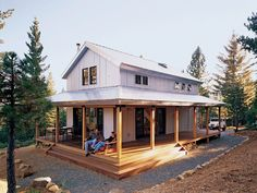 Off the Grid and Energy Efficient | Remote cabin inspired by Forest Service