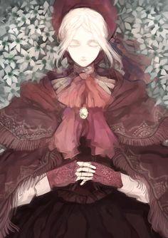 http://lordranandbeyond.tumblr.com/post/120043500612/gamingpixels-bloodborne-fan-arts-1-bloodborne