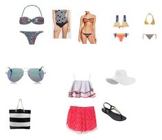"""playa"" by look-sofia ❤ liked on Polyvore featuring Salinas, PilyQ, WithChic, Mitos, IPANEMA, Seafolly and Cutler and Gross"