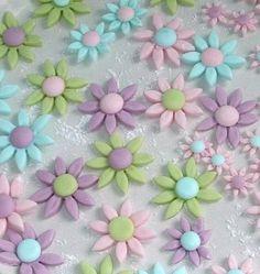 Pascua flores fondant