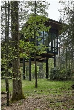 Fuck Yeah, Awesome Houses! - Modern Cabin on Stilts