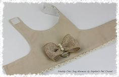 Shabby Chic Dog Harness  Pet Boutique Harness for Dogs