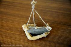 Stone Sailboat Rope Side Decor Gamzege Desig'n Studio www.gamzegedesignstudio.com