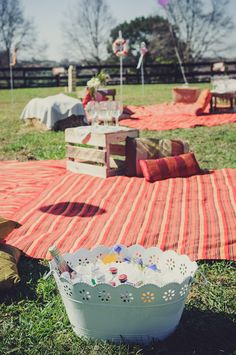 Charne & Michael - Labola Wedding @ Camp Orchards  #colours #roses #daisy #jenga #lawn-games #picnic #wedding #natural #fun