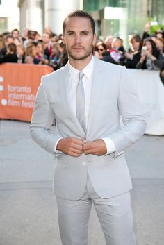 True Detective star Taylor Kitsch definitely knows how to rock a suit! Check out the hottest pictures of the handsome actor.