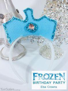 Disney Frozen Elsa Crowns Favors?