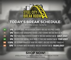Check Out Today's Break Schedule!  http://ift.tt/2cz4yff  Gurley Perry & Wilkins signed jersey Giveaways! Grab a spot while you can!  #MLB #NFL #NBA #livebreak #groupbreak #breakers #thehobby &#whodoyoucollect #sccbreakroom