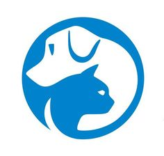 Logo for SPCA Hong Kong. Negative space = cat.