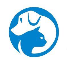 Logo for SPCA Hong Kong. Negative space = cat.