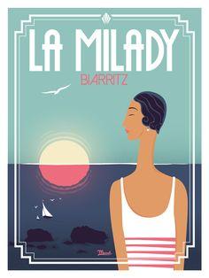 © Marcel Biarritz LA MILADY www.marcel-biarritz.com