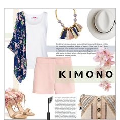 How To Wear kimono Fashion Set Outfit Idea 2017 - Fashion Trends Ready To Wear For Plus Size, Curvy Women Over 20, 30, 40, 50