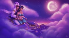 Aladdin and Jasmine 1