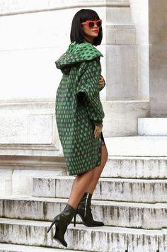 Rihanna via Vogue Daily