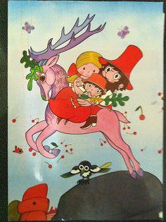 Rumcajs, Manka and Cipísek Cartoon Tv, Cartoon Drawings, Cute Drawings, My Roots, Czech Republic, Illustrators, Disney Characters, Fictional Characters, Nostalgia