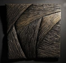 Original textured Abstract acrylic and resin painting on canvas modern art original art homedecor black and gold abstract painting unique ar - Her Crochet Art Sculpture, Abstract Sculpture, Thierry Martenon, Organic Art, Contemporary Artwork, Wooden Wall Art, Mural Art, Ceramic Art, Original Art