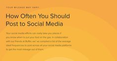 It seems like a great portionof the social media research we do at Buffer often comes back toa few big questions for social media sharing.  How do I get more followers?  What should I share?  When should I …