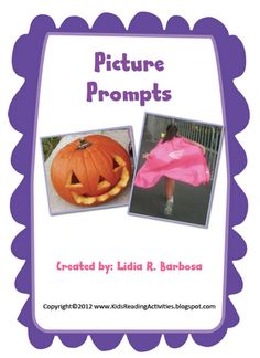 Picture prompts will make a great writing lab all year!  =)  (Freebie too!)