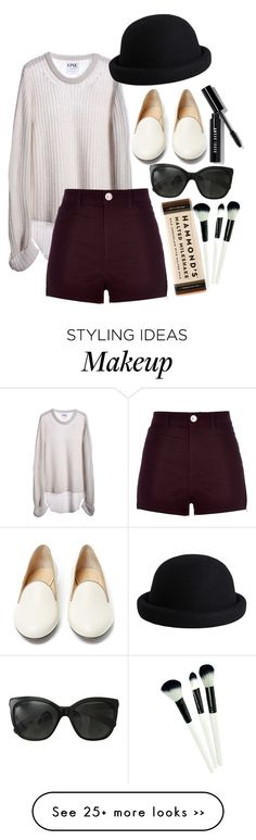 """""""Untitled #149"""" by alana221 on Polyvore featuring One Teaspoon, Chanel, River Island, Bobbi Brown Cosmetics, Charlotte Olympia and Pieces"""