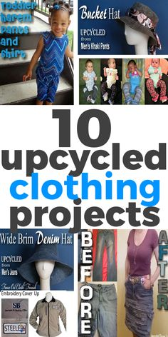 10 Upcycled Clothing