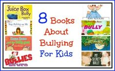8 Books About Bullying For Kids - pinned by @PediaStaff – Please Visit ht.ly/63sNtfor all our pediatric therapy pins