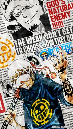 Anime Costume Trafalgar Law, One Piece One Piece Anime, One Piece Luffy, Manga Anime, Anime Guys, Anime Art, Itachi, Naruto, Trafalgar Law Wallpapers, Jean Bart