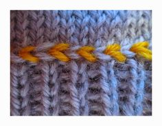 Hook Knitting Patterns : From the fabulous brain of techknitting: slip stitch surface