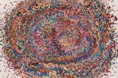 Jeana Eve Klein. Ten Thousand French Knots, detail