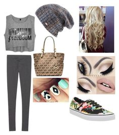 """""""Fall #10"""" by bdunsieth on Polyvore featuring Spacecraft, Victoria's Secret, Michael Kors and Vans"""
