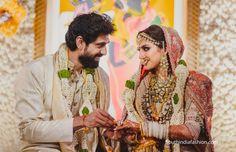 rana daggubati and miheeka wedding photos 4 scaled e1596931194385 Bride Groom Photos, Indian Bride And Groom, Rana Daggubati, Entertainment, News Website, Bridal Outfits, Wedding Vows, Dream Wedding, Tie The Knots