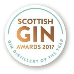 The ultimate accolade for the Scottish Gin Industry in 2017.