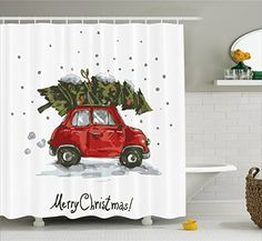 Christmas Shower Curtain for Kids by Ambesonne, Merry Chr... https://smile.amazon.com/dp/B01LQMJRD6/ref=cm_sw_r_pi_dp_x_5MexybAYG6B89
