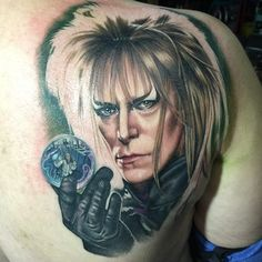 Labyrinth tattoo by Chris Jones @ Area 51 Tattoo
