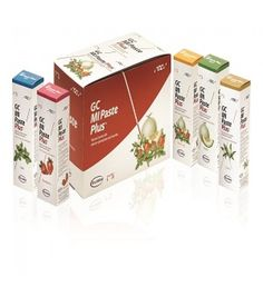 MI PASTE PLUS Assorted Pack Pkg Contains: 10 tubes-40gm each, 2 x melon, 2 x mint, 2 x strawberry, 2 x tuttifruti & 2 x vanilla MFG #002614