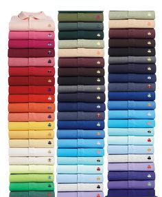 Golden Fleece® Original Fit 44 Box Set | Brooks Brothers : $2000 for 44 BB polos. (fathers day gift) I wish I had  the money to get those for my dad! ...if he wore polos...