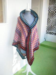 Ravelry: Project Gallery for Mongolia shawl pattern by Christel Seyfarth