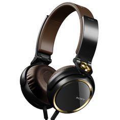 Sony Powerful Sound-Isolating Extra Bass Headphones With convenient In-Line  iOS Remote   Mic For IPod acc2e05585c98