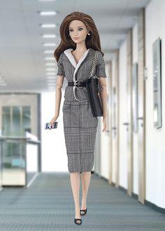 Preciosa ropa para Barbie y Poppy Parker, todo hecho a mano ¡visítanos!